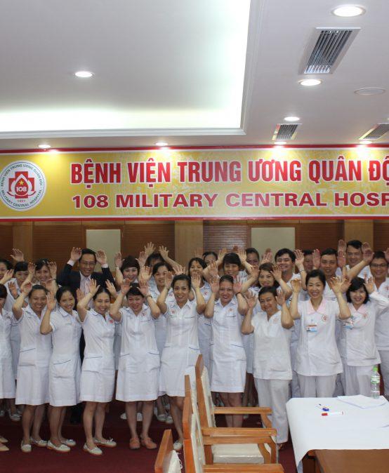 """Chương trình đào tạo """"Kỹ Năng Giao Tiếp Và Xử Lý Tình Huống"""" lần thứ 8 cho Bệnh Viên Trung Ương Quân Đội 108"""