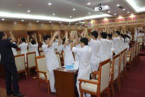 ky nang giao tiep xu ly tinh huong lan 84 300x200 Chương trình đào tạo Kỹ Năng Giao Tiếp Và Xử Lý Tình Huống lần thứ 8 cho Bệnh Viên Trung Ương Quân Đội 108