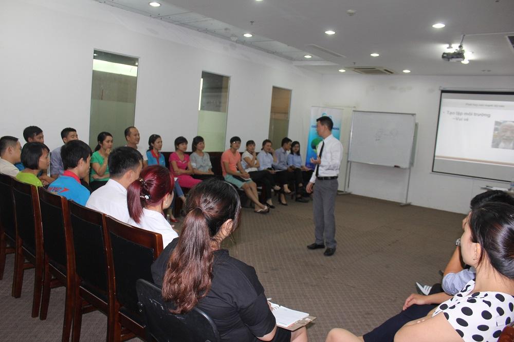"""Đào Tạo  Public Hà Nội: """"Kỹ năng bán hàng và Chăm sóc khách hàng"""" Khóa 29-08-2016"""