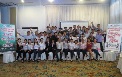 Chương trình đào tạo Sống Để Yêu Thương Và Chia Sẻ cho Hệ Thống Nha Khoa Sài Gòn Tâm Đức