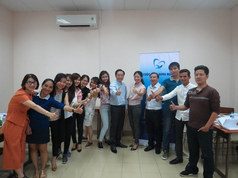 Đào tạo kỹ năng giao tiếp và thuyết trình TP.HCM khóa 17-09-2016