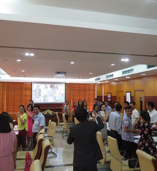 Chương trình đào tạo Kỹ Năng Làm Viêc Nhóm, Tổ Chức Công Việc và Quản Lý Thời Gian cho Công Ty Cổ Phần Xây Lắp Điện 1