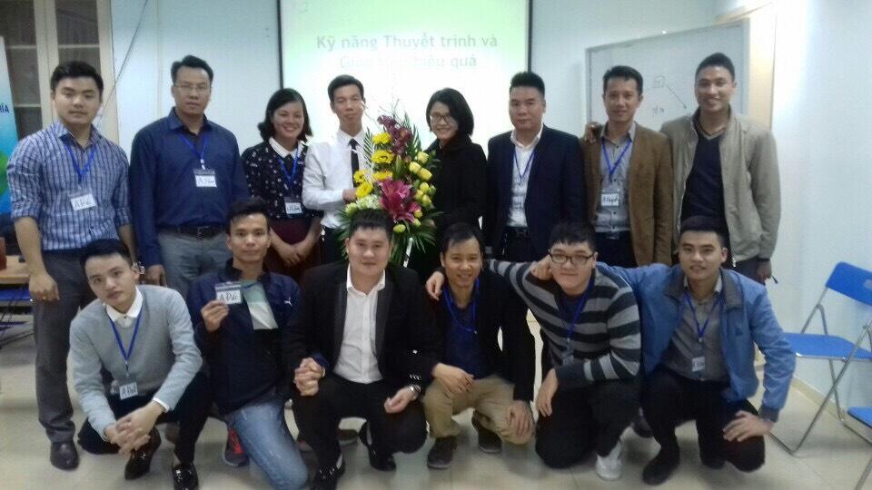 Đào tạo Public: Kỹ năng giao tiếp và thuyết trình tại Hà Nội ngày 20/12/2016