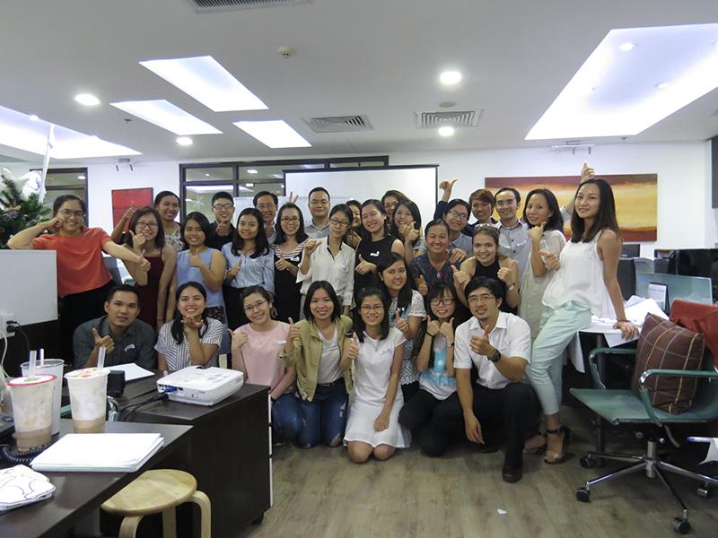 Chương trình đào tạo kỹ năng Tổ Chức Công Việc và Quản Lý Thời Gian cho Công Ty SUCAFINA