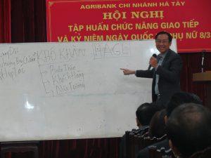 IMG 0196 300x225 Đào Tạo Kỹ Năng Giao Tiếp và Phục Vụ Khách Hàng Cho Agribank Hà Tây, Hà Nội