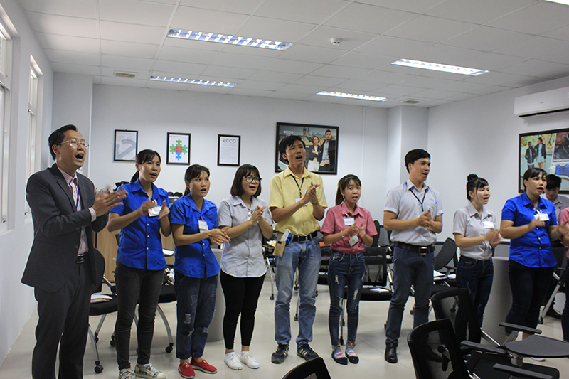 Đào Tạo ECCO Lớp 1 : Đào Tạo Kỹ Năng Quản Lý Và Làm Việc Nhóm