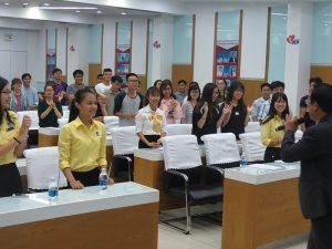 dao tao ky nang thuyet 4 300x225 Chương trình đào tạo  Thuyết Sao Cho Phục Cho CLB Nhân Sự của Trường Đại Học Kinh Tế TPHCM