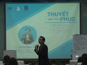 dao tao ky nang thuyet 8 300x225 Chương trình đào tạo  Thuyết Sao Cho Phục Cho CLB Nhân Sự của Trường Đại Học Kinh Tế TPHCM