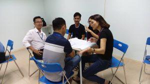dao tao ky nang giao tiep thuyet trinh ha noi 09 099 300x168 Đào tạo Public: Kỹ năng giao tiếp và thuyết trình tại Hà Nội