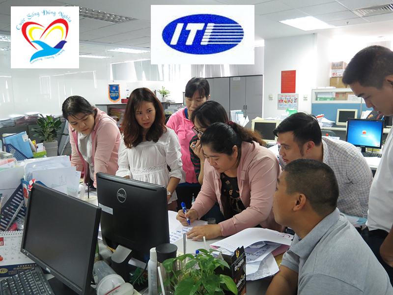 dao tao ky nang to chuc cong viec iti24 copy Chương trình đào tạo cho Công Ty TNHH Vận Tải Quốc Tế I.T.I Lần 2
