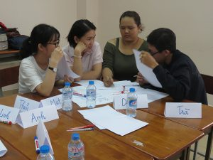 dao tao ky nang lam viec nhom1 300x225 Chương trình đào tạo cho Cửa Hàng Trà Sữa Nhí