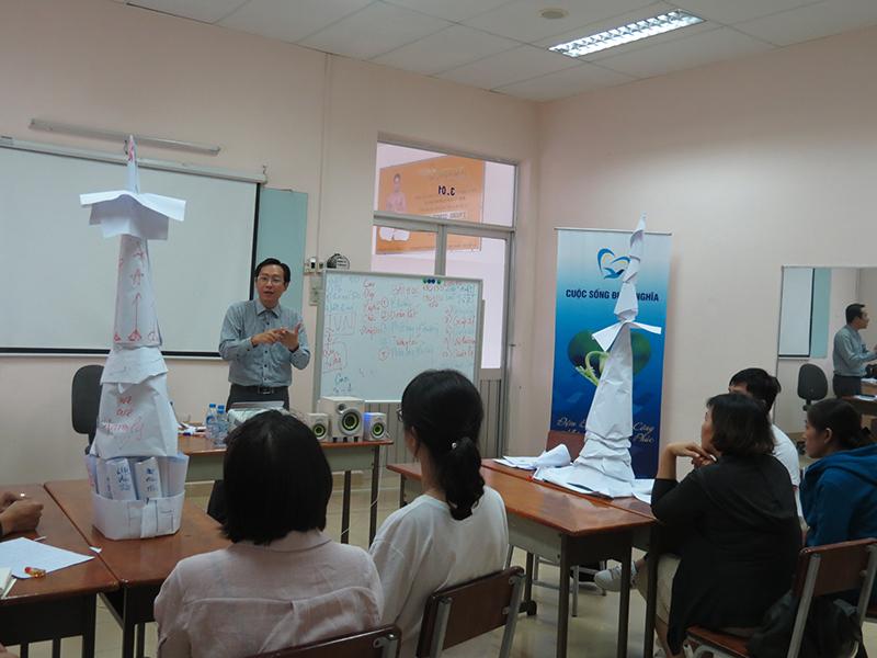 dao tao ky nang lam viec nhom12 Chương trình đào tạo cho Cửa Hàng Trà Sữa Nhí