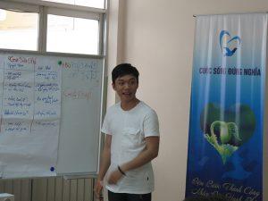 dao tao ky nang lam viec nhom4 300x225 Chương trình đào tạo cho Cửa Hàng Trà Sữa Nhí