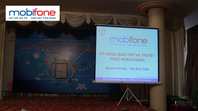 dao tao ky nang giao tiep thuyet phuc mobifone lop26 Chương trình đào tạo cho MOBIFONE khu vực phía nam Lần 2