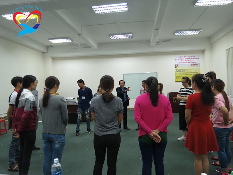 dao tao ky nang lam viec nhom1 Chương trình đào tạo cho Công Ty TNHH Giày Hân Xương Việt Nam