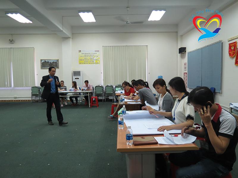 dao tao ky nang lam viec nhom2 Chương trình đào tạo cho Công Ty TNHH Giày Hân Xương Việt Nam