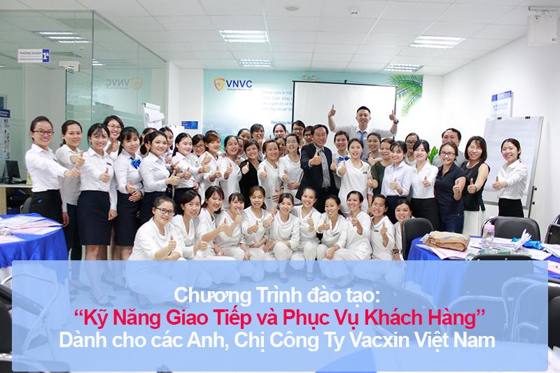 Chương trình đào tạo cho Công Ty Cổ Phần Vacxin Việt Nam – Chi Nhánh Hồ Chí Minh Lần 2