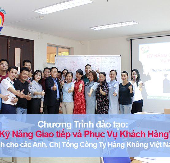 Chương trình đào tạo cho Tổng Công Ty Hàng Không Việt Nam – CTCP-Trung Tâm Khai Thác Tân Sơn Nhất (TOC) – Lần 1
