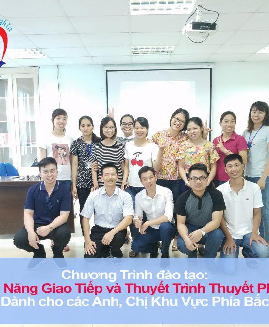 """Đào tạo public: """"Kỹ Năng Giao Tiếp và Thuyết Trình Thuyết Phục"""" tại Hà Nội"""