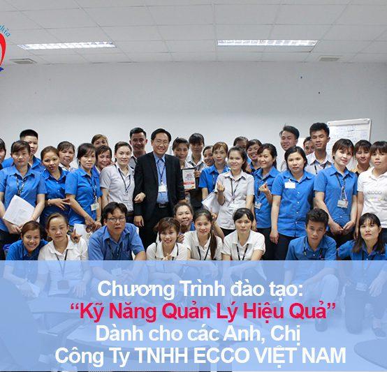 Chương trình đào tạo cho Công Ty TNHH ECCO VIỆT NAM