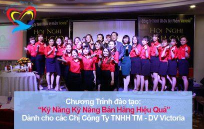 Chương trình đào tạo cho Công Ty TNHH TM- DV Victoria