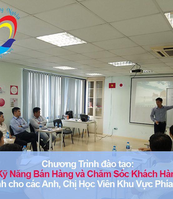 """Đào tạo public: """"Kỹ Năng Bán Hàng và Chăm Sóc Khách Hàng Chuyên Nghiệp"""" tại Hà Nội"""