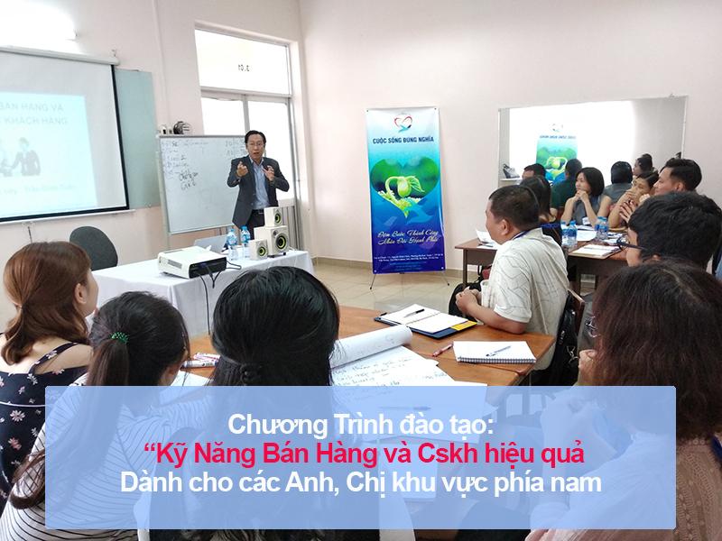 """Đào tạo public: """"Kỹ Năng Bán Hàng và Chăm Sóc Khách Hàng Chuyên Nghiệp"""" tại Hồ Chí Minh"""
