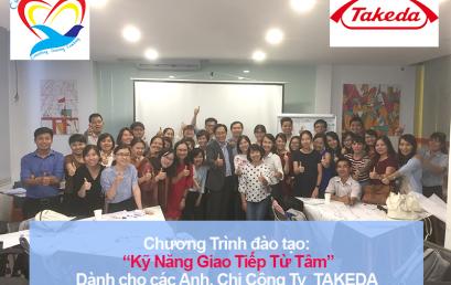 Chương trình đào tạo cho Văn Phòng Đại Diện Takeda Pharmaceuticals Tại Hồ Chí Minh