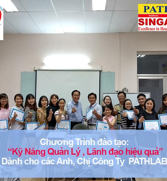 Chương trình đào tạo cho Công Ty TNHH Xét Nghiệm Bệnh Lý Học Việt Nam