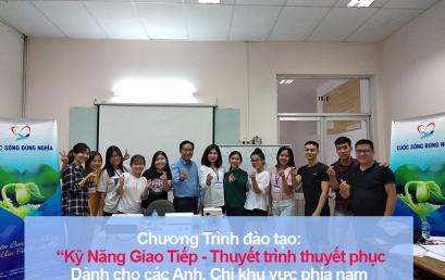 """Đào tạo public: """"Kỹ Năng Giao Tiếp và Thuyết Trình Thuyết Phục"""" tại Hồ Chí Minh tháng 10"""