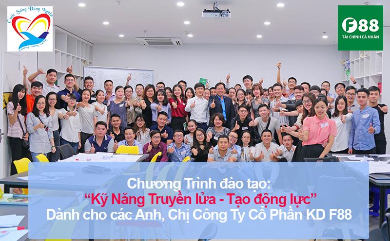 ky nang truyen lua tao dong 11 Chương trình đào tạo Truyền lửa và tạo động lực phát triển nhân viên tại F88