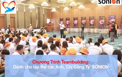 Chương trình Teambuilding cho tập thể Công ty SONION lần 1
