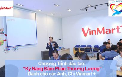 Chương trình đào tạo Kỹ năng Đàm Phán Thương Lượng Cho Vinmart +