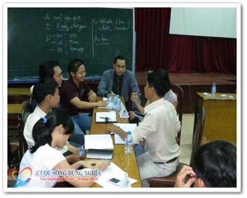 Khóa học bán hàng (22-24/8/2013)