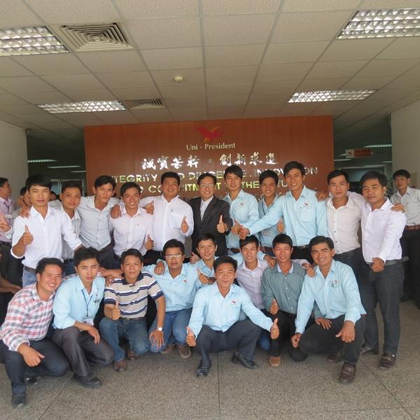 Đào tạo Kỹ năng bán hàng và Chăm sóc khách hàng cho Tập Đoàn Uni – President