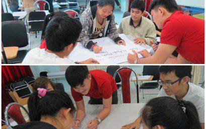Đào tạo kỹ năng làm việc nhóm cho Viện Đào Tạo Quốc Tế IEI