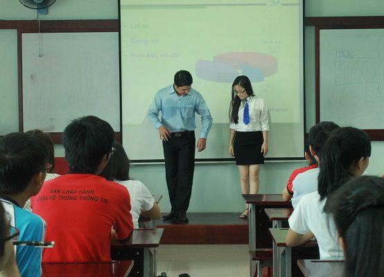 Chương trình đào tạo Kỹ năng thuyết trình hiệu quả cho Đại học kinh tế- Luật