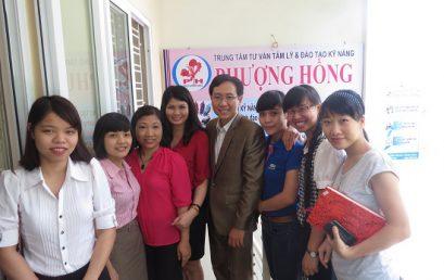 Đào tạo Kỹ năng huấn luyện cho các Giáo viên của Trung Tâm Tư Vấn Tâm Lý – Đào Tạo Kỹ Năng Phượng Hồng
