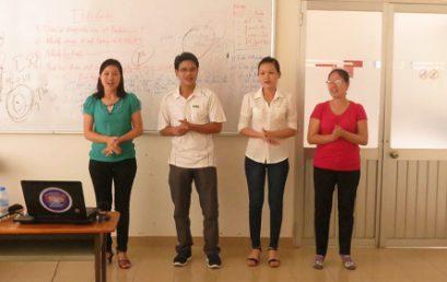 """Chương trình """"Kỹ Năng Quản Lý Hồ Sơ"""" cho Công Ty Cổ Phần Công Nghiệp Chính Xác Việt Nam"""