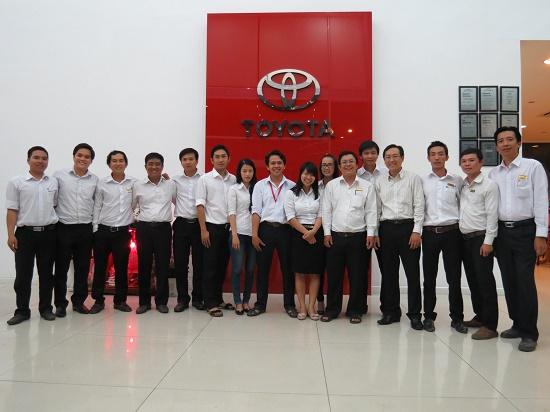 """Chương trình đào tạo """" Kỹ Năng Bán Hàng, Phục Vụ và Chăm Sóc Khách Hàng """" cho công ty Công Ty Toyota Phú Mỹ Hưng"""