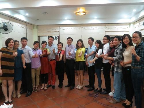Khóa học Kỹ năng Giao tiếp và Trình bày thuyết phục 24- 28.11 tại Hà Nội