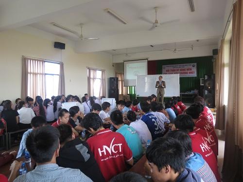 Chương trình đào tạo Kỹ Năng Phỏng Vấn Tuyển Dụng dành cho Sinh Viên Trường Cao Đẳng Nghề TPHCM
