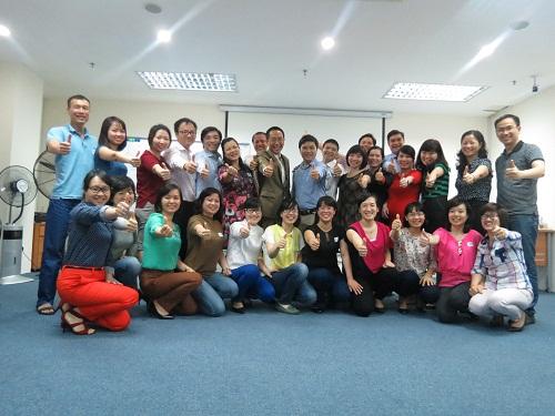 Chương trình Kỹ Năng Giao Tiếp và Thuyết Trình dành cho các Anh Chị khối Quản Lý của Ngân Hàng Sacombank tại Hà Nội