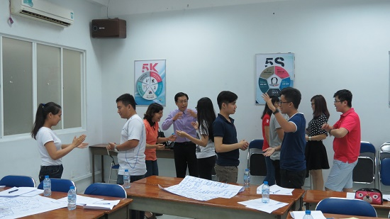 Đào tạo Kỹ năng Giao tiếp và Trình bày thuyết phục cho các học viên khu vực phía Nam