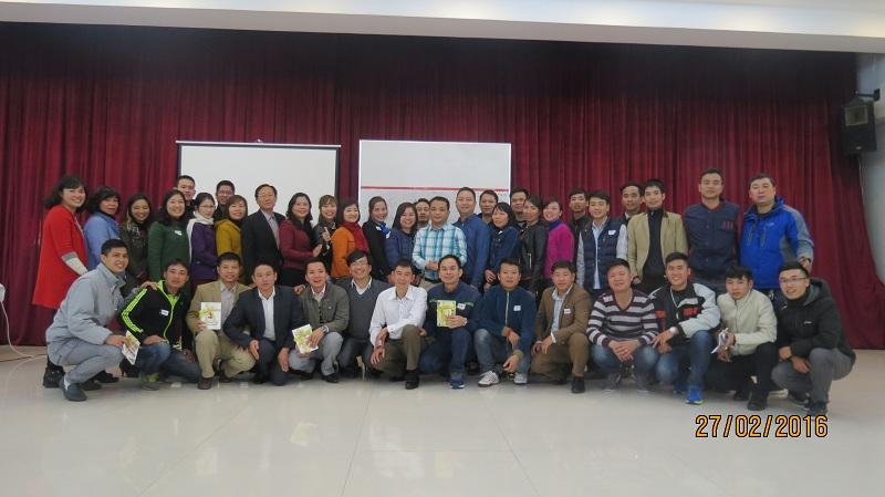 Đào Tạo Bán Hàng Cho Đội  Ngũ Kinh Doanh Khối OTC Của Đài Bắc Group