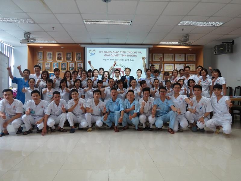 Đào tạo cho Điều Dưỡng Bệnh Viện Trung Ương Quân Đội 108 lần 2