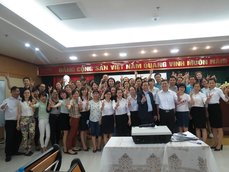 """Đào tạo Inhouse chương trình """"Văn Hóa Doanh Nghiệp"""" Ngân Hàng Agribank Hà Nội"""