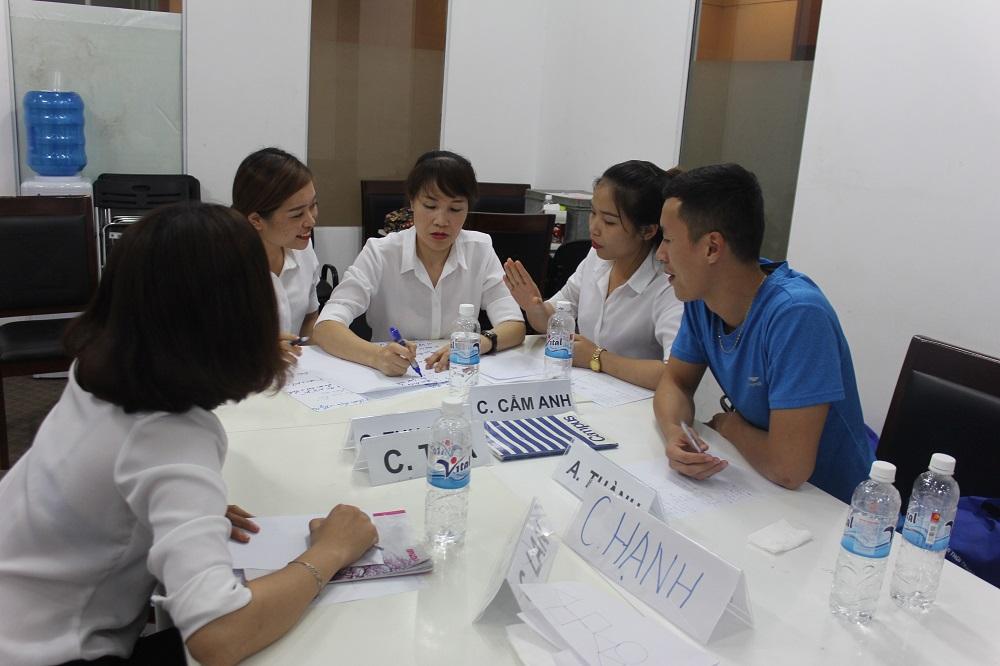 Đào tạo cho Tập Đoàn TNG lần 6: Kỹ năng giao tiếp và bán hàng hiệu quả