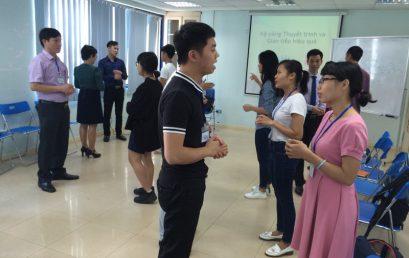 Đào tạo Public: Kỹ năng giao tiếp và thuyết trình tại Hà Nội ngày 19/11/2016