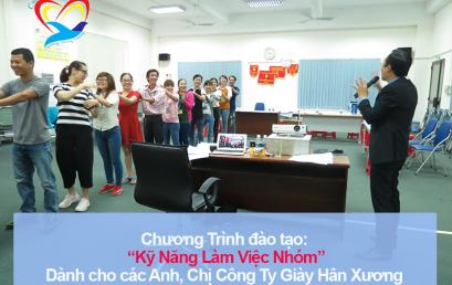 Chương trình đào tạo cho Công Ty TNHH Giày Hân Xương Việt Nam
